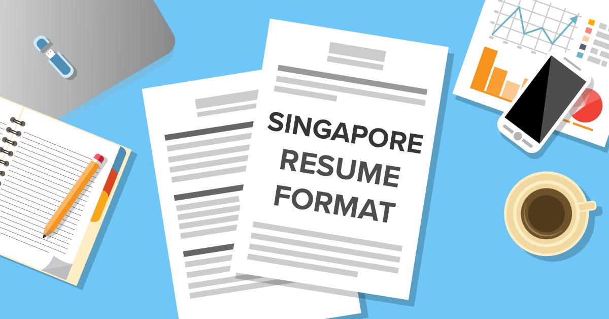 Resume Format 2020 Singapore Cv Format