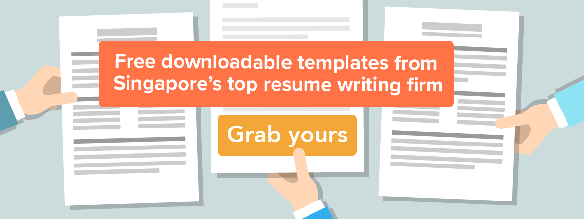 Free Resume Template Singapore - Download Singapore CV Template Here