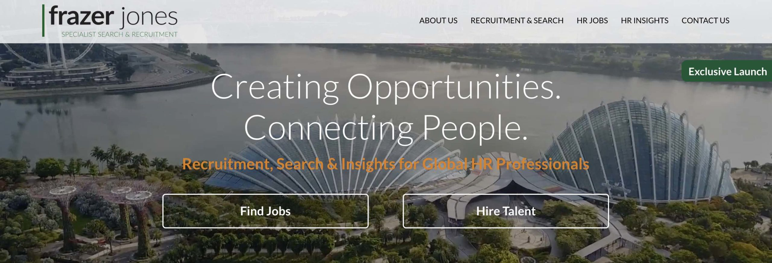 Frazer Jones Singapore - Recruitment agency