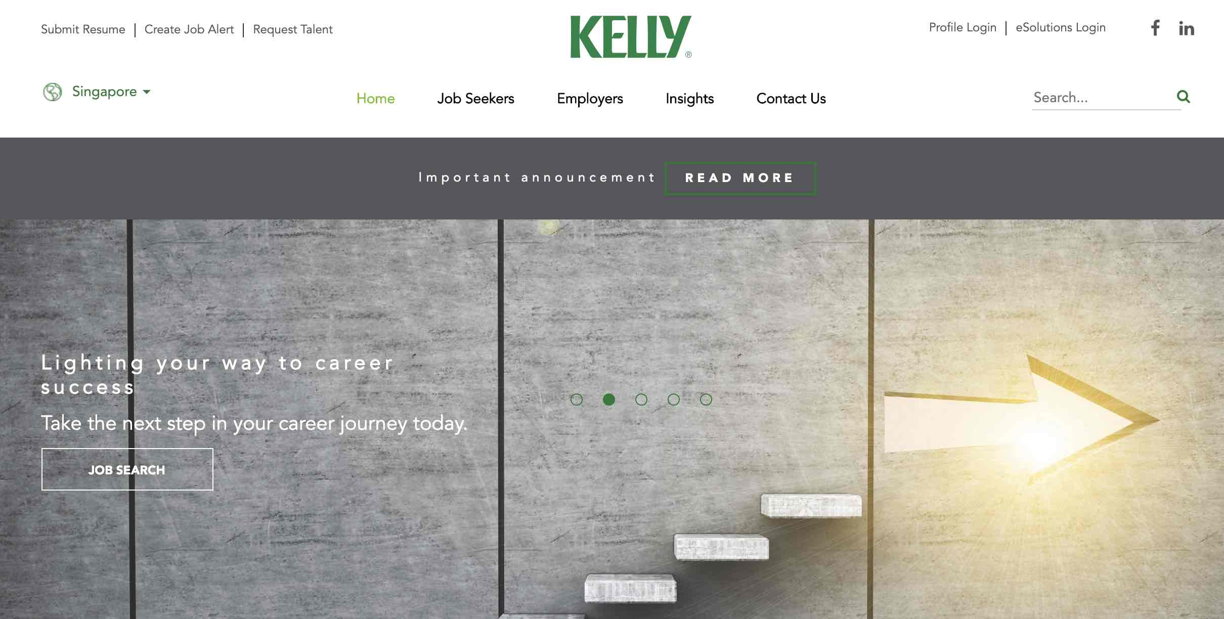 Kelly Services Singapore - Recruitment agency