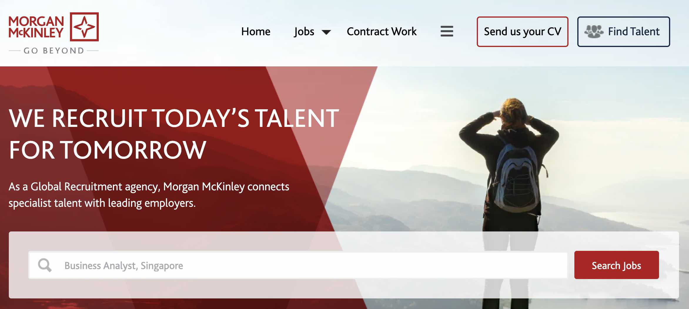 Morgan McKinley Singapore - Recruitment agency and executive search firm