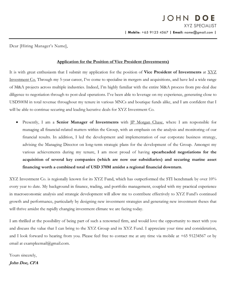 Cover Letter Templates Free Downloadable Templates